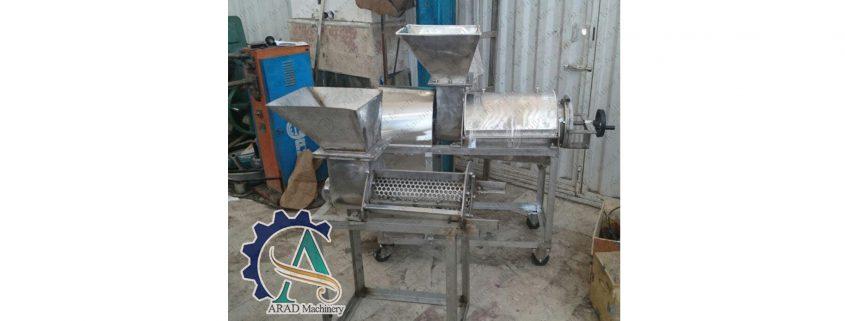 خرید دستگاه آبگیری صنعتی انگور دست دوم